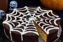 pastel de telaraña de dia muertos