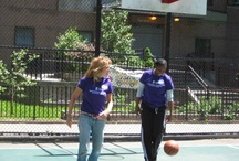 Women Build 2012 version of an after party- Hoops on the Court / by Habitat for Humanity New York City