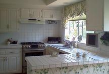 Summer Garden - Kitchen Remodel - Before & After shots