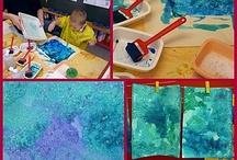 technique peinture enfant