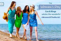#WomenOfTheWorld / Honouring some of the adventurous women