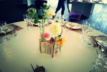 Lookout! Here comes the bride ... / A light and floral wedding reception at the V&A Waterfront's Lookout venue.