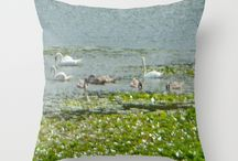 Deluxephotos Society6 Pillows / Nice selection of art or photos from Michigan and around the World that come to life on Society6 piilows.  Enjoy the uniqueness!
