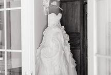 Wedding dress displays