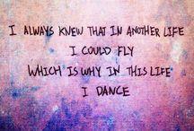Táncos idézetek