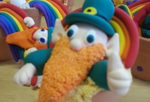Jumping St Patricks Day / Some of the great ideas coming out of Jumping Clay for Paddy's day :) Happy modelling