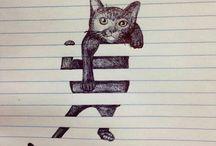 Úžasné umění / Awesome art! :D