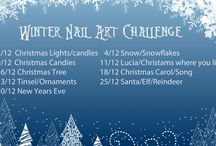Winter Nail Art Challenge / Manicures from our Winter Nail Art Challenge