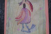 viltkaarten textielkaarten