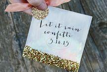 Wedding ~ Confetti / by Aphrodite's World / Weddings