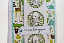 Baby / Cards and Gift Ideas using SugarPea Designs clear stamps.