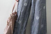 Pantalones frescos