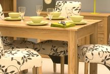 Dining Tables / A well put-together dining room should feature a statement table, and these deliver just that! Small, large or extending, solid oak, painted white or solid walnut, or even fashionable industrial chic, dining will become just that little bit lovelier with these in your home. http://www.hampshirefurniture.co.uk/furniture-type/dining-tables