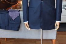 Wedding suit, Napoli II, super 130's / 250 gr. / https://www.facebook.com/media/set/?set=a.10152360531374844.1073742157.94355784843&type=1  #mtm #madetomeasure #tailoring #buczynski #buczynskitailoring #weddingsuit #carnet #darkbluesuit #peaklapel