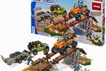 Mega Bloks New item arrival-Jeep Off-Road Adventure - 97804