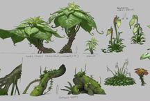 Botany / Plant art