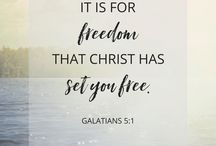 With Jesus comes freedom