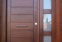 puertas casa playa