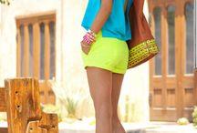Neon / Bold Brights Fashion / Fashion inspiration~