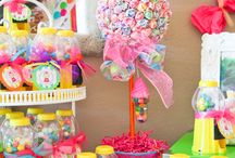 School Fete - lolly stand / Lolly stand ideas