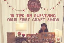 ARTS & CRAFTS Show Tips / Best Show Guides Ever. Arts and Crafts Trade shows, tips and tricks, how to's, display ideas, upcycle displays, money making at any show and sale, etc.