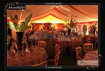 Hall Decoration / A1 Weddingwalla brings out the core beauty and spark of your wedding day through Hall Decoration for Reception, Dining and Wedding by flowers, balloons and wedding dining furnitures.