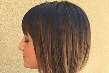Kısa küt saç