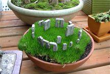 Gardening - fairy diy / by Ivanka Rex