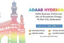 Adaab Hyderabad / Vatika Business Centre now launches it's second business centre at Divyashree Omega, Hi-Tech City, Hyderabad