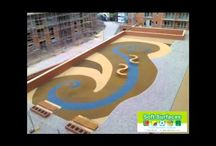 Rubberised Wetpour Play Surfaces in UK