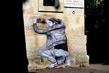 World of Urban Art : LEVALET  [France]