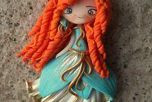 clay doll