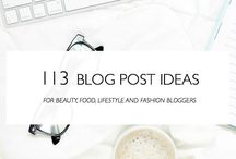 Blogging / Blog tips and tricks