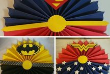 cumple super heroes
