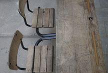 Kinderkamer / Prachtige oude ,brocante meubelen en accessoires om de kinderkamer of babykamer mee in te richten. Kijk voor unieke items op www.grijsengroen.nl