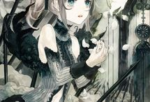 Beautiful anime illustrations