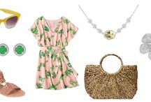 Shoshanah's Picks: Flirty Summer Fun / Each week, Shoshanah (who has fabulous taste IMHO) will be putting together a complete outfit, accessorized with Shadora jewelry! No need to hit the malls – she will do the shopping for you! This week's look is Flirty Summer Fun– what do you think?