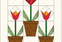Papier piecing patronen