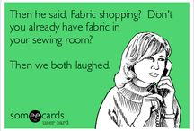 Fabric Funnies and Wise Words / Patchwork & Quilting, Sewing, Applique, Embroidery, Dressmaking, Stitching