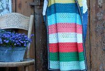 crochet/knit blankets