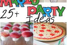 Mario party ideas