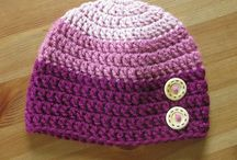 crochet girl hats