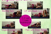 Body Weight Workouts and Strength / Body Weight and Strength Workout ideas. Fitness inspiration