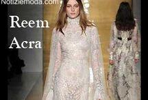 Reem Acra / Reem Acra collezione e catalogo primavera estate e autunno inverno abiti abbigliamento accessori scarpe borse sfilata donna.