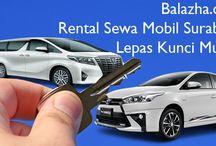 Balazha.com Rental Sewa Mobil Surabaya Lepas Kunci Murah