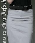 pants to skirt