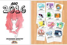 Calendarios & Postales descargables
