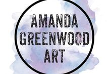 Amanda Greenwood Art - Chanel prints