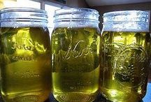 Olive oil and green dawn dish soap hand wash