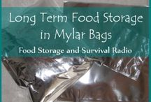 How and Where to Store Food Storage / All the best places and methods for proper storage of food and preparedness items.  Live in a small space?  Don't let your perceived lack of space prevent you from storing food.  Get creative!